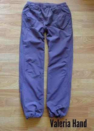 Спортивные штаны - брюки на трикотажной подкладке для девочки - возраст 12 лет