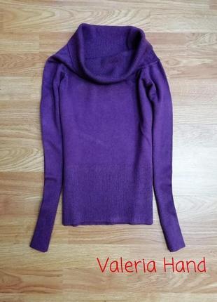 Подростковый плотный упругий свитер - девочка - возраст 9-11 лет