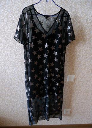 Великолепное трендовое платье river island, черное, на чехле, размер(12,40,l) river island