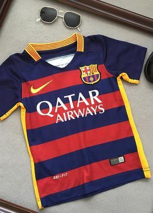 Футболка nike dri-fit fc barcelona (оригинал!).