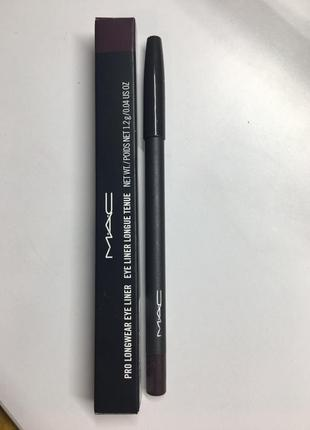 Стойкий карандаш для глаз mac pro longwear eye liner