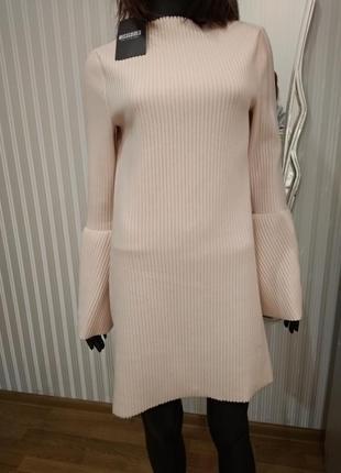 Платье missguided нежно пудрового цвета
