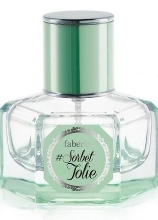 Парфюмерная вода для женщин faberlic #sorbet jolie фаберлик