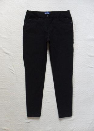 Утягивающие черные штаны брюки biaggini, 16 размер.