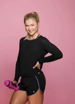 Sophia thiel fitness  кроп топ для фитнеса,  германия ( евро 32-34)