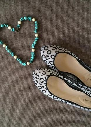 Финальный sale новых вещей! bershka леопардовые балетки на изящную ножку