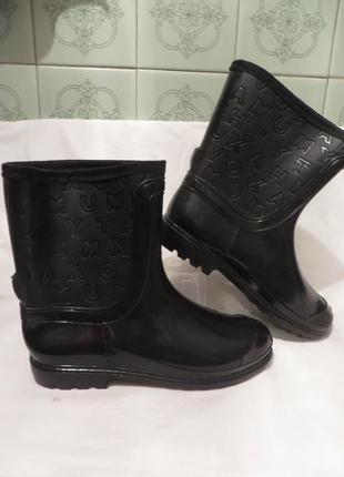 Сапоги ботинки резиновые разные размеры