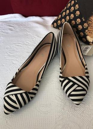 Стильные туфли лодочки tu, новые!