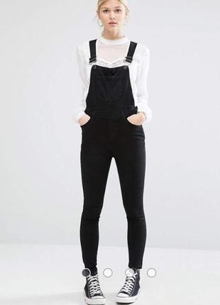 Джинсовый комбинезон ромпер new look для девочки 140-146 см