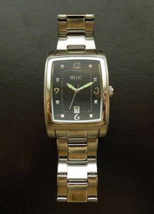 Relic by fossil zr77081 мужские часы из сша календарь wr100ft