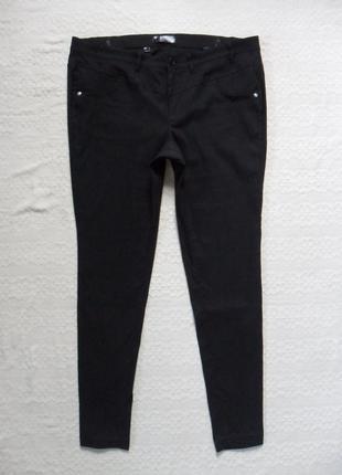 Утягивающие черные штаны брюки скинни bon prix, 20 размер