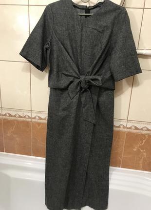 Стильное платье деловой стиль платье zara оригинал