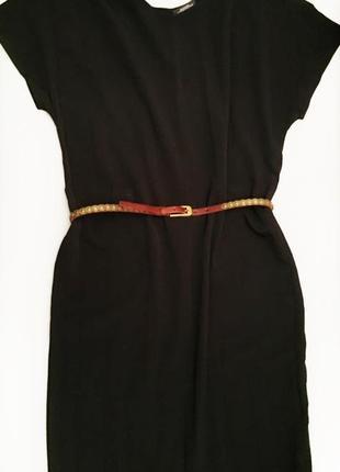 Замечательное платьице свободного кроя в пол clemente