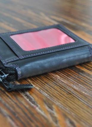 Кожаный кошелек визитница / шкіряний гаманець5
