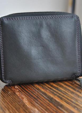 Кожаный кошелек визитница / шкіряний гаманець4
