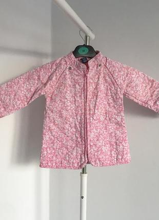 Курточка gap у квітковому принті.