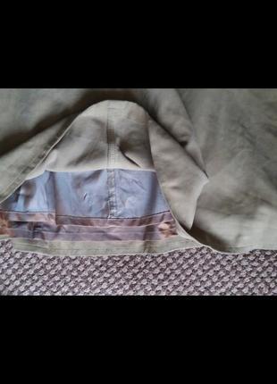 Шикарная юбка замша ваниль7 фото
