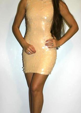 Нарядное платье по фигуре , в паетках  -- срочная уценка платьев ---