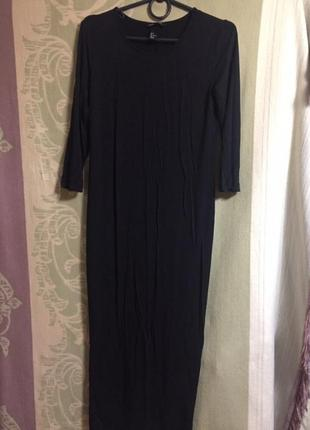 Базовое чёрное платье от h&m