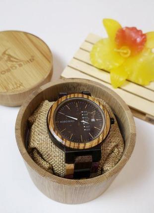 Наручные часы (эко) унисекс из натурального дерева