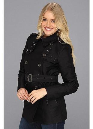 Пальто плащ sam edelman оригинал s xs черное черный