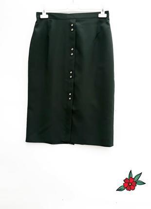 Юбка миди на пуговицах елегантная юбка карандаш