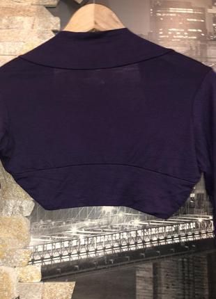 Красивое фиолетовое  болеро4 фото