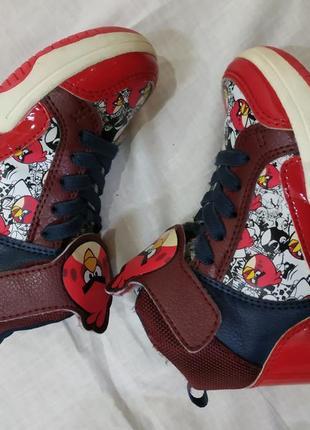 Кроссовки на 26 размер angry birds6