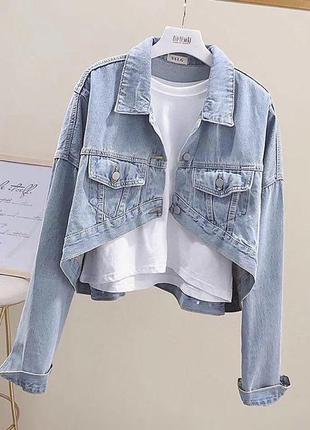 Жакет джинсовая куртка