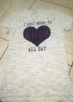 Майка футболка на 10-11 р