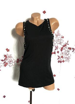 Майка с бусами - распродажа 🔥 много брендовой одежды!