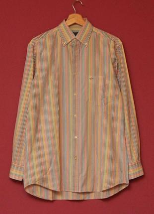 Paul & shark 38 l рубашка из хлопка оригинал в идеальном состоянии