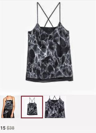 Майка мрамор + вставки натуральная кожа - распродажа 🔥 много брендовой одежды!