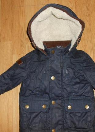 Куртка на малыша 9-12 мес