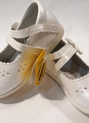 Нарядные туфельки   для маленьких принцес  clibee (румыния)  р.19-24 цена 310 гр.3