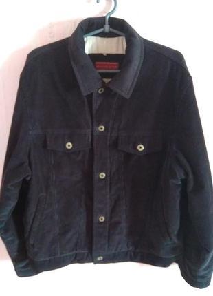 Демисезонная вельветовая куртка abercrombie&fitch m ка