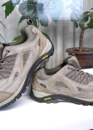 """Легкие и прочные водонепроницаемые кожаные кроссовки """"technicals"""" waterproof, англия, 39 р"""