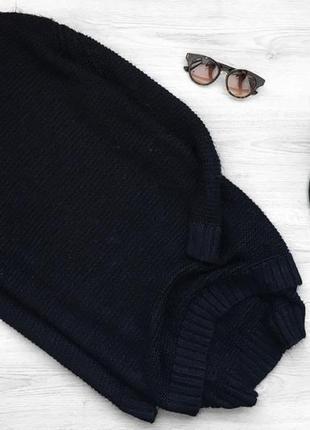 Крутой длинный свитер/джемпер травка zara
