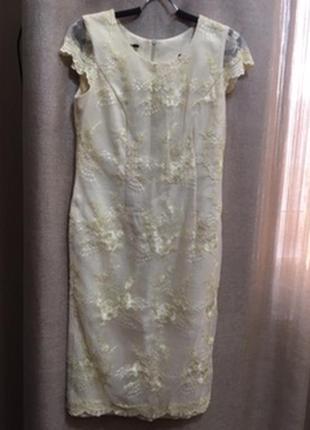 Костюм нарядный  платье + пиджак  margott
