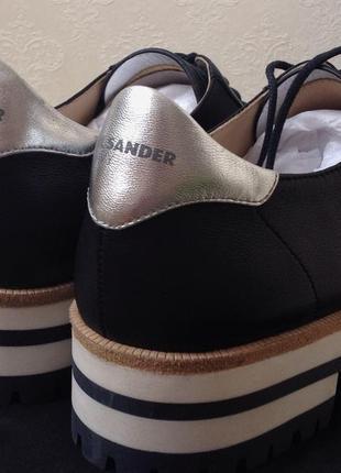 Женские брендовые туфли/оксфорды jil sander
