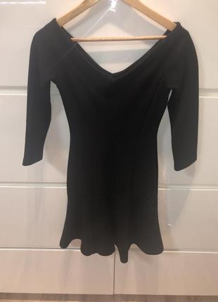 Reiss черное платье