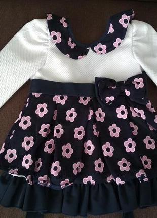 Нарядные платья для девочек 2 года 2019 - купить недорого вещи в ... 7708ff34c116e
