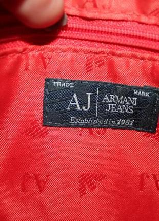 Оригинальный клатч/кроссбоди armani jeans7