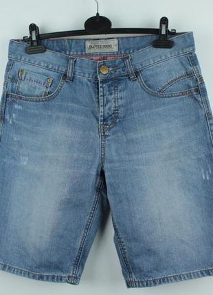 Стильные качественные джинсовые шорты angelo litrico размер м