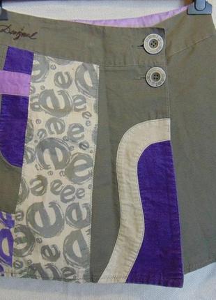 Юбочка на подкладке для девочки 11-12 лет, desigual.