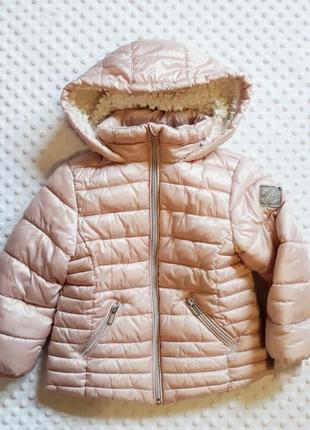 Пудрово-жемчужная куртка  next