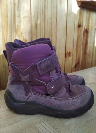 Зимние ботинки ecco gore-tex. размер 30.