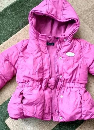 Весенняя курточка куртка для девочки