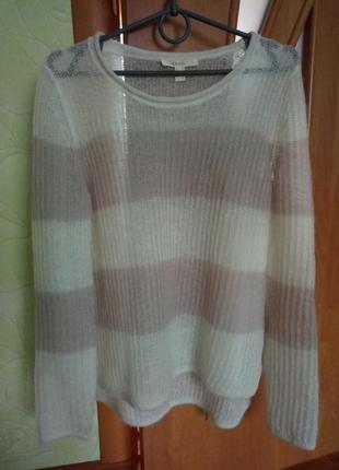 Красивый свитерок в полоску