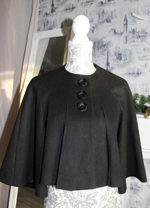 Красивый чёрный жакет - болеро от jennifer taylor {48 размер}